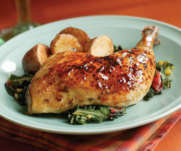 Maple-Thyme Roast Chicken #finecooking