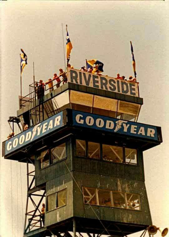 Riverside raceway tower