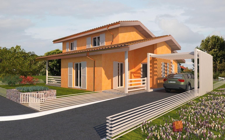 Interni Case Prefabbricate In Legno casa prefabbricata in legno living 231 | case prefabbricate