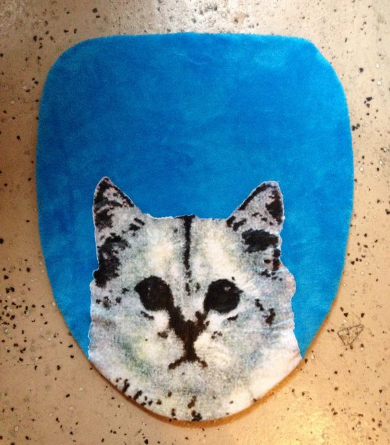 Turquoise Toilet Seat Cover. Grumpy Cat Toilet Seat Lid Cover Bathroom Vintage blue dead stock new  grumpy cat christmas