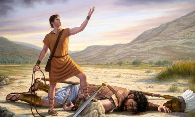 David Was Not Afraid | Teach Your Children | Storie della bibbia, Bibbia,  Immagini religiose