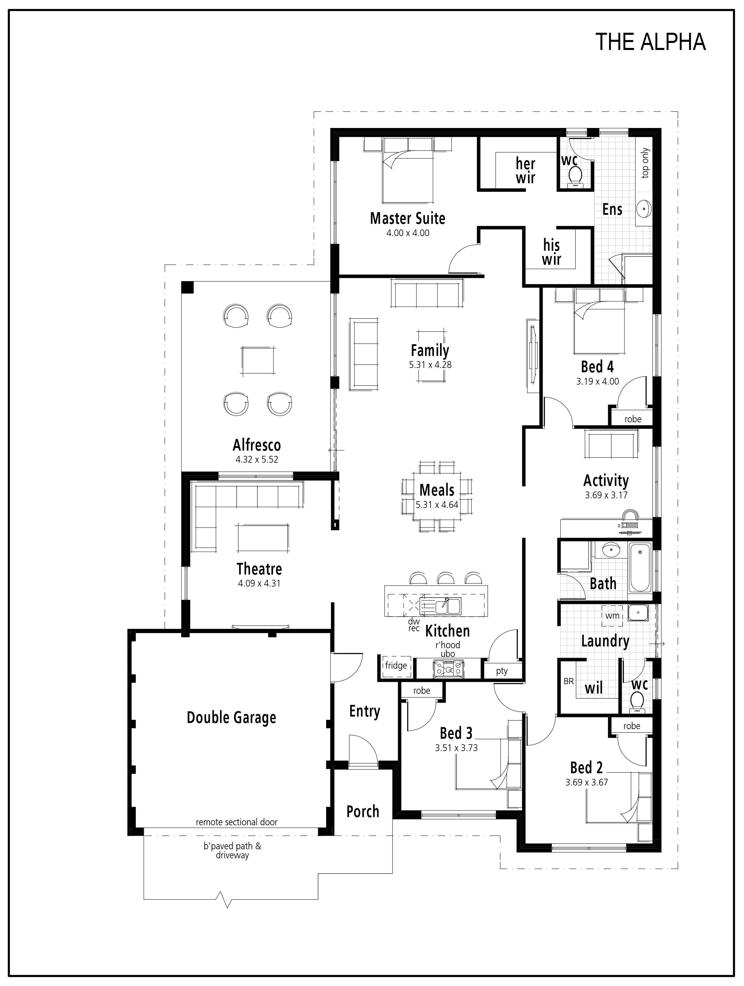 Smart Homes For Living Idesign Floor Plans Bedroom House Plans House Blueprints
