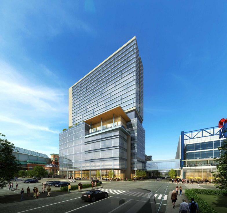 Plan Calls For Hotel To Perch Atop New Tower