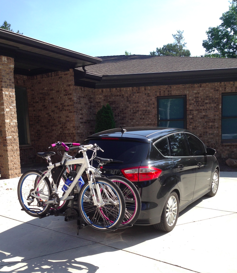 Richard And Amy S Ford C Max With Ecohitch And Bikes They Are