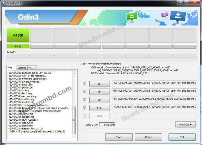 firmware i9300xxugmk6