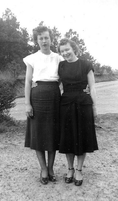 1950's womens casual clothing