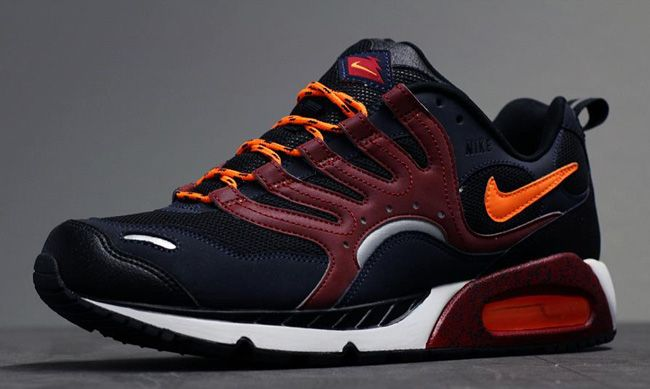 timeless design 26999 33672 Nike Air Max Humara   Obsidian, Burgundy   Total Orange
