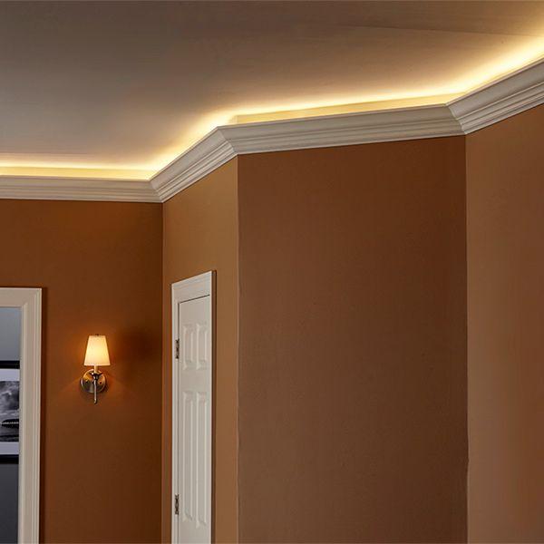 How To Install Elegant Cove Lighting Seitenbeleuchtung Diy Wohnzimmer Wohnung Planen