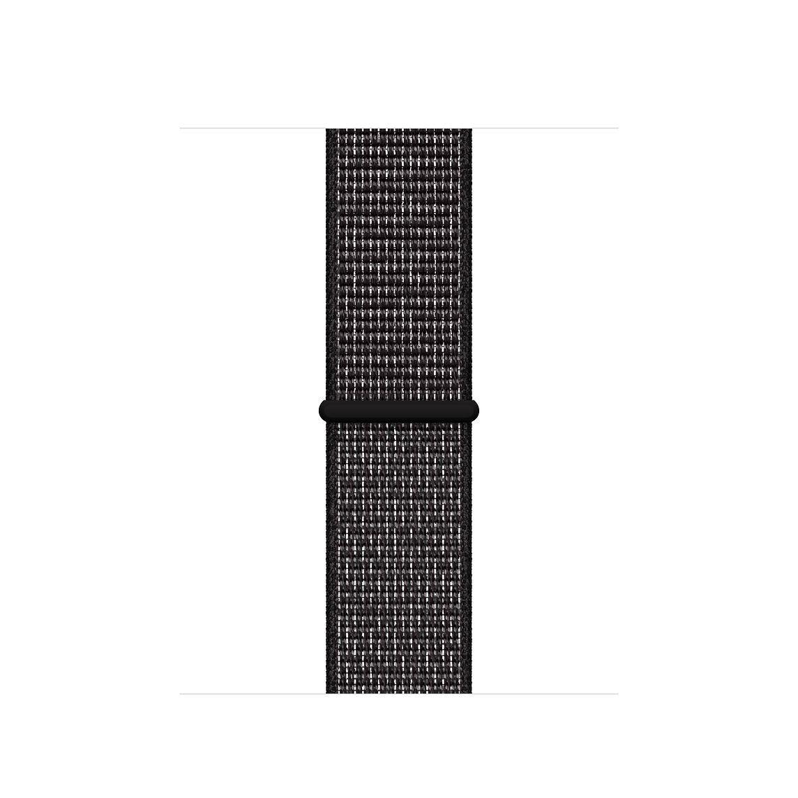 40mm Black Nike Sport Loop Black nikes, Apple watch