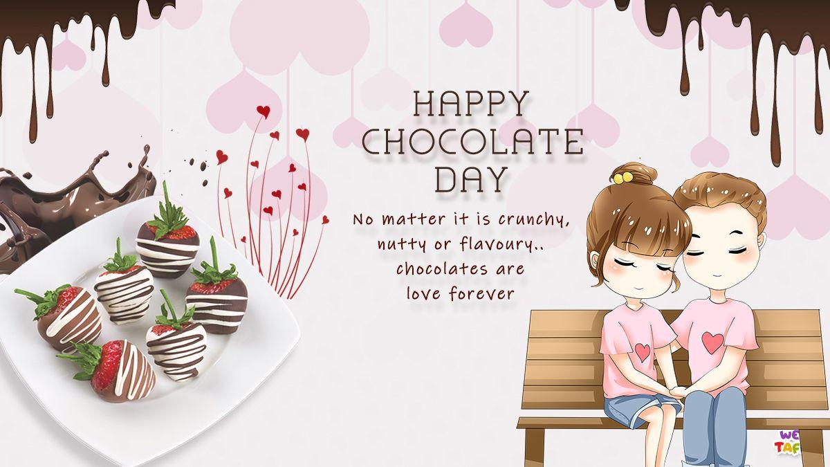 Happy Chocolate Day Happy Chocolate Day Chocolate Day Images Chocolate Day