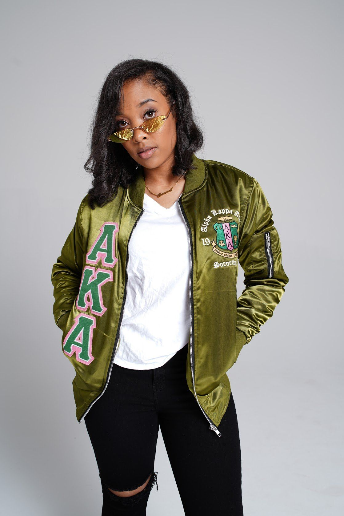 A Divine Creations Original And Exclusive Satin Bomber Jacket Satin On The Outside And Satin On The Inside Bomber Jacket Satin Bomber Jacket Black Girl Shirts [ 1676 x 1118 Pixel ]