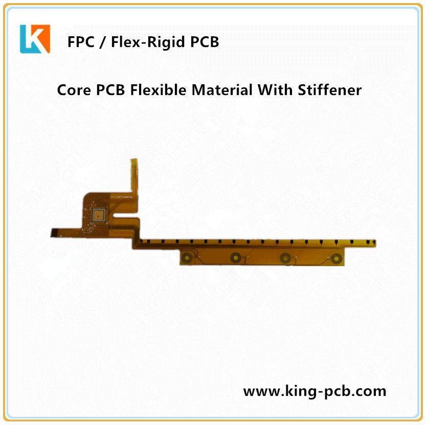 Core Pcb Flexible Material With Stiffener Printed Circuit Boards Flex Flexibility