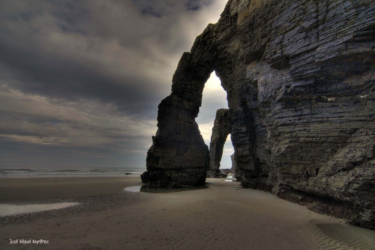 playa de las catedrales foz