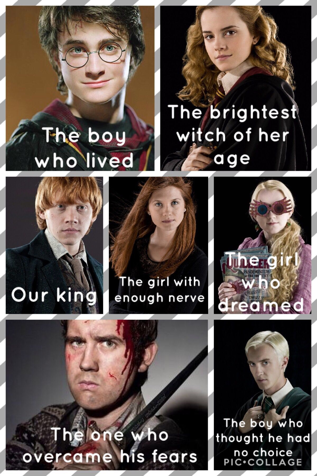 Descriptions Of The Best Characters Harry Potter Feels Accio Harry Potter Harry Potter Universal
