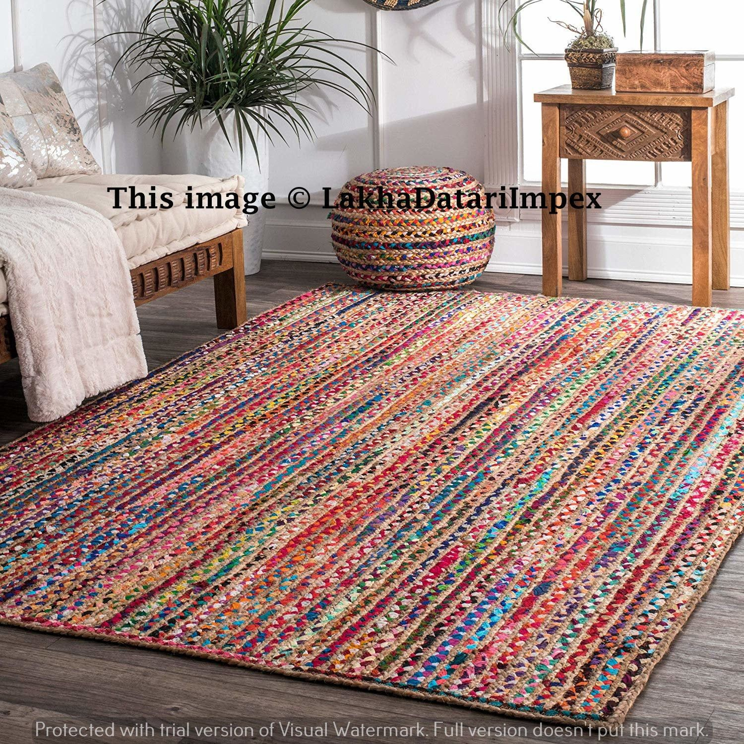 Pin On Rugs Area Rugs Chindi Rug Home Decor Rug Cotton Rug Jute
