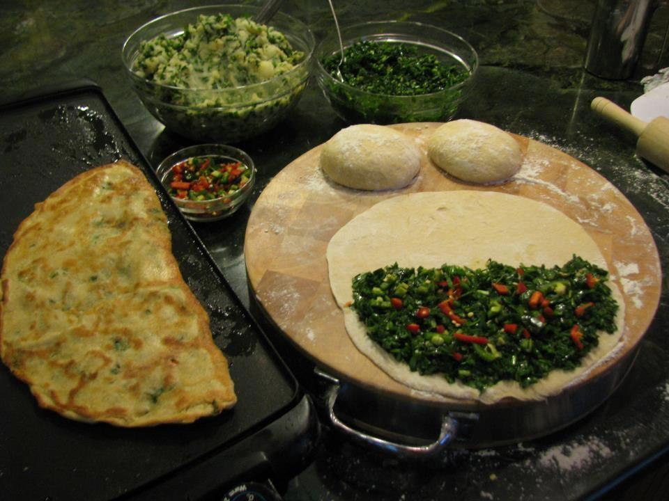 Bolani Gandana | AFGHANISTAN | Pinterest | Afghans, Afghan recipe ...