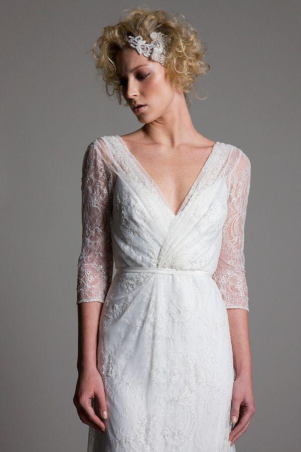 A Breathtaking New Bridal Wear Collection by http://www.halfpennylondon.com/