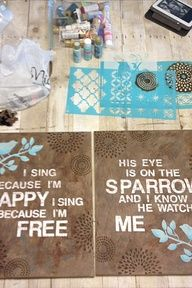 Love these do it yourself canvas crafts arts and crafts love these do it yourself canvas crafts solutioingenieria Images
