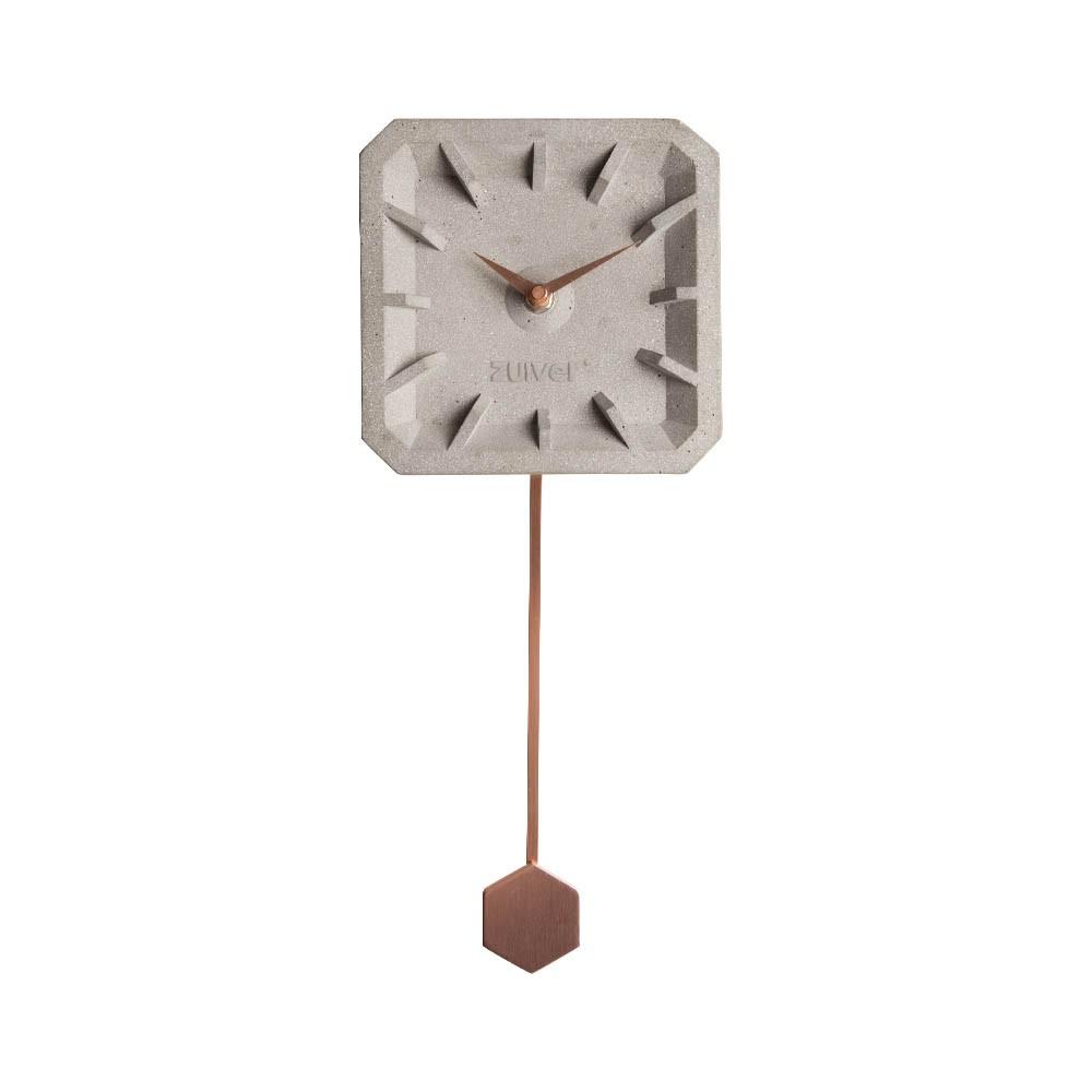 Zuiver Tiktak Wall Clock Copper Houseology Wall Clock Copper Contemporary Wall Clock Wall Clock Design