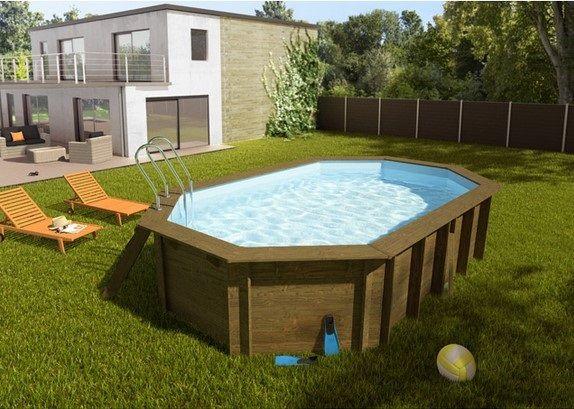piscine bois blooma lokka pas cher