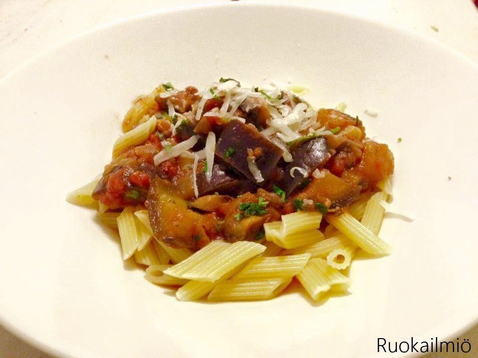 Ruokailmiö: Mehevä kasviskastike pastalle