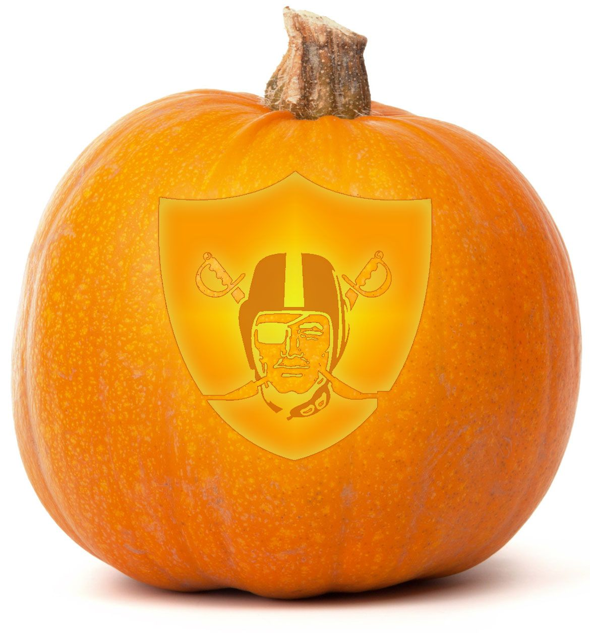 Download our free Oakland Raiders Pumpkin Carving template ...