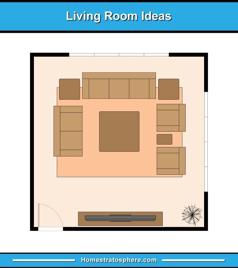 13 Living Room Furniture Layout Examples Floor Plan Illustrations In 2020 Livingroom Layout Living Room Floor Plans Living Room Furniture Layout