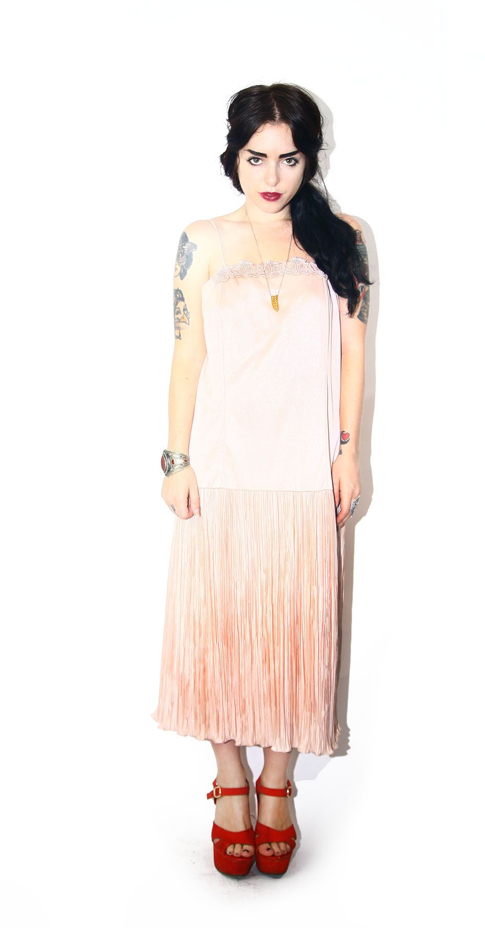 Rose Drop Waist Dress — Fauve&Hunter