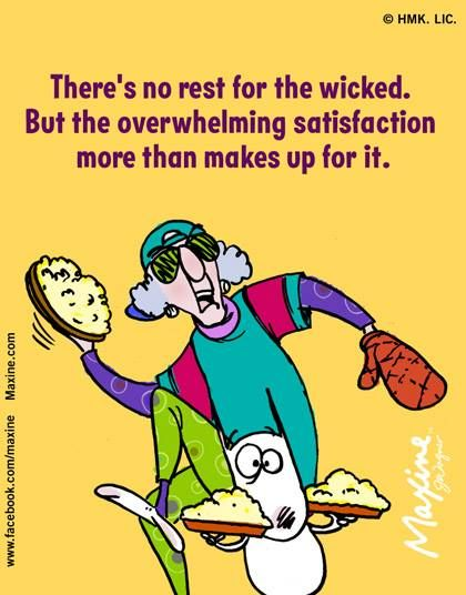 Image result for maxine cartoon rest