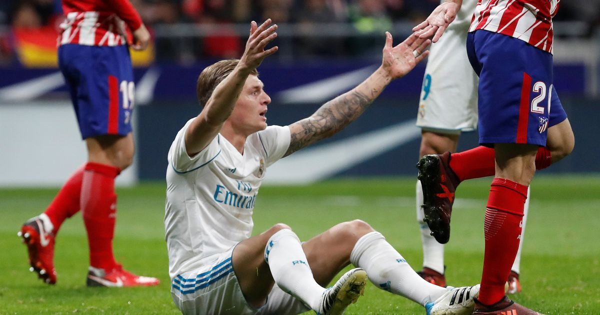 Atletico Madrid vs Real Madrid live score and goal updates
