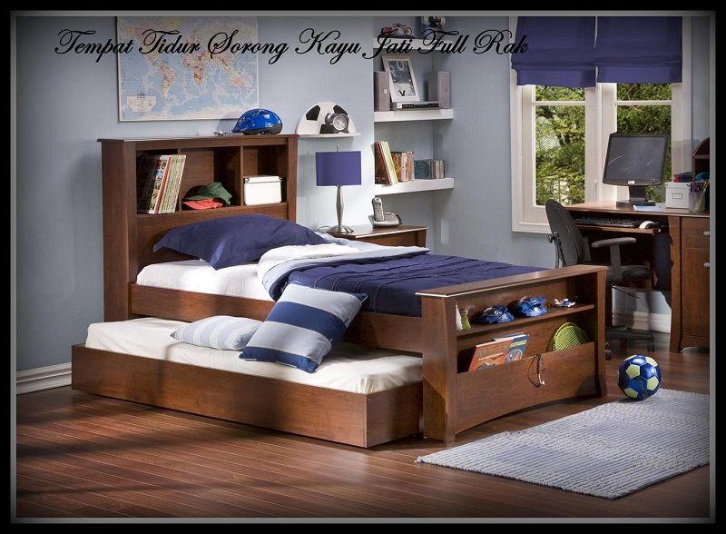 Desain Tempat Tidur Kayu