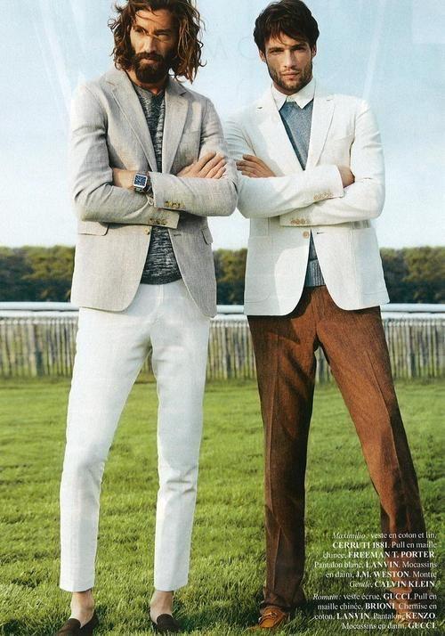 Patrick Rukai and Maximiliano Patane for Sport & Style (Jun 13)