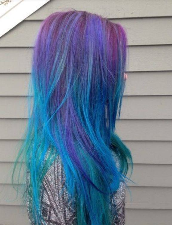 Hair Coloring Multi Color