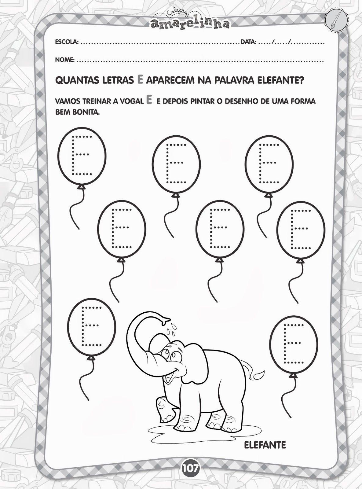 Colecao Amarelinha Linguagem Oral E Escrita 3 Anos Educacao