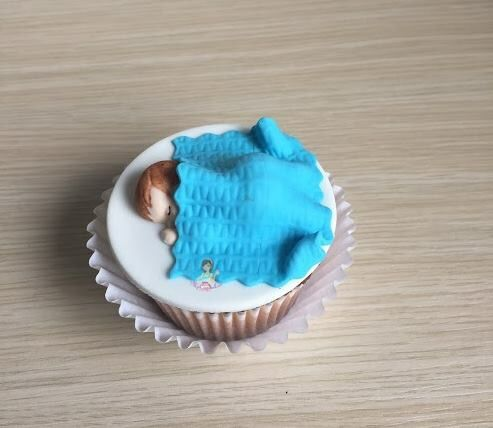 Cupcake de bebe