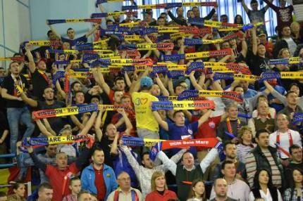 VIDEO Atmosferă de senzație la meciul HCM-Dinamo Volgograd. Final de poveste