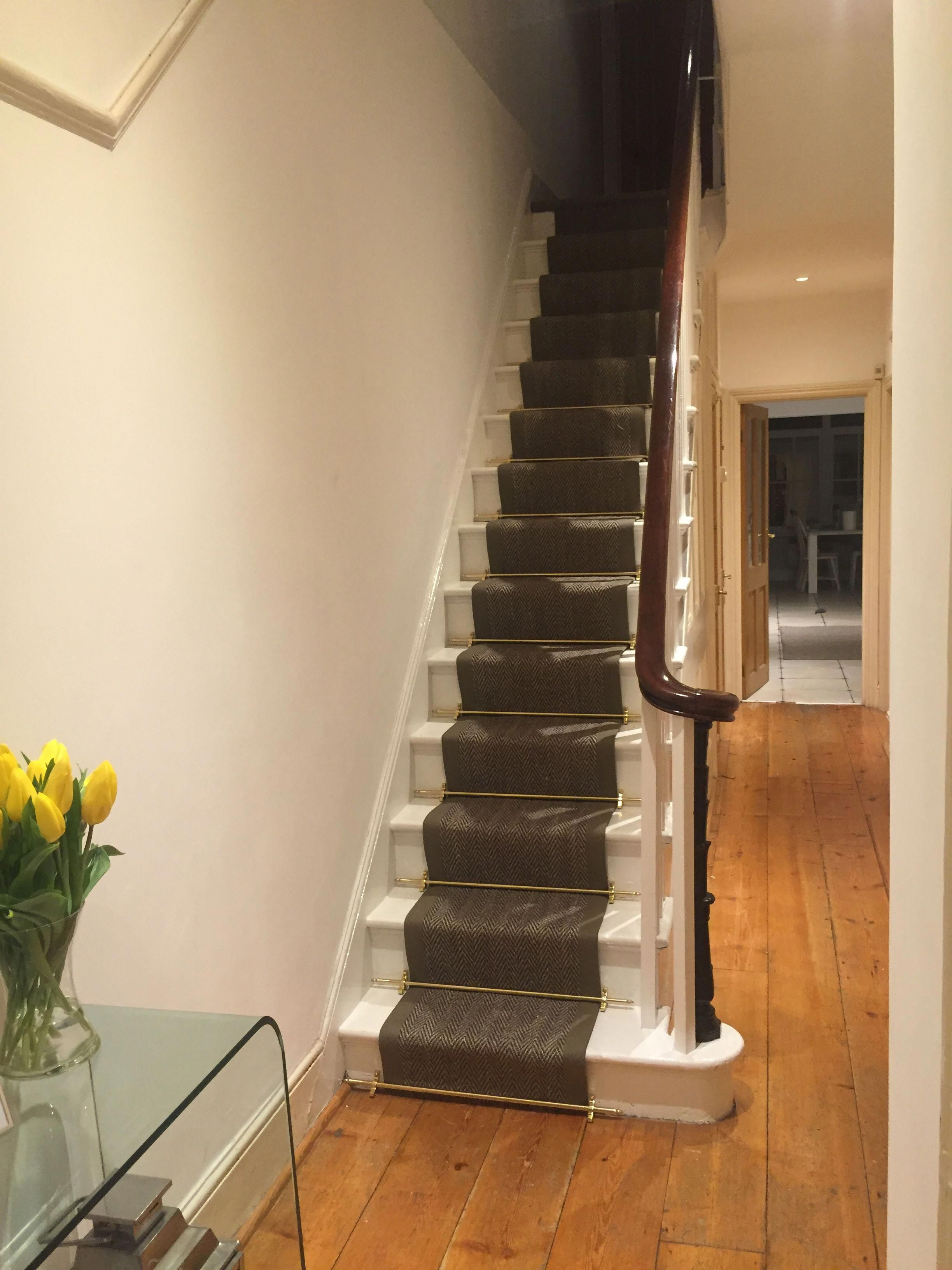 Best Stair Runner Finally In Place With Seagrass Carpet And 400 x 300