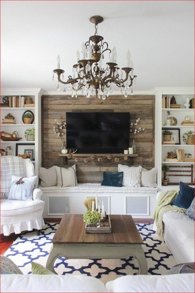 44 Cozy Farmhouse Corner Living Room Decor images