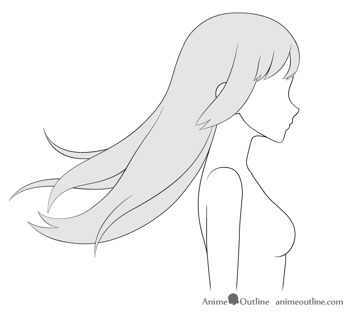Photo of How to Draw Anime Hair Blowing in the Wind – AnimeOutline