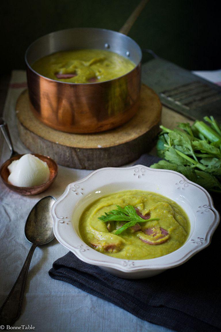 Erwtensoep (soupe de pois cassés)   Soupe de pois cassés ...