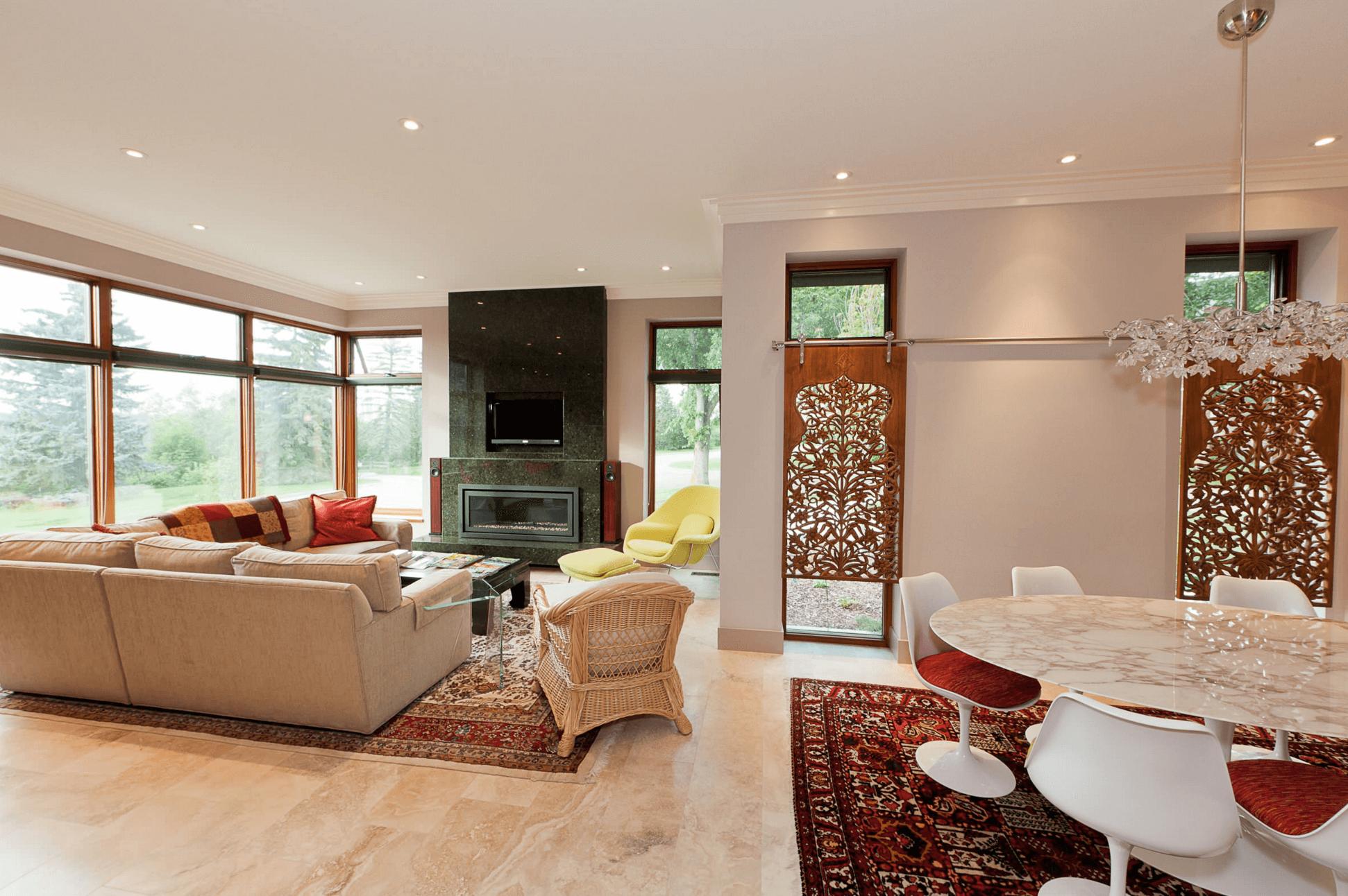 Wood panels living room pinterest woods window and condos