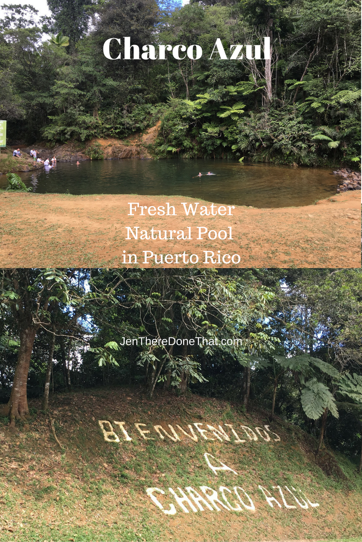 Charco Azul Fresh Water Natural Pool Puerto Rico Travel Guide ...