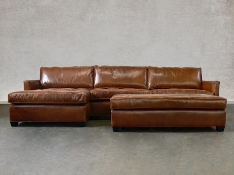 Arizona Leather Sectional Sofa With Chaise Top Grain Aniline Leather Leather Sectional Sectional Sofa With Chaise Sectional Sofa