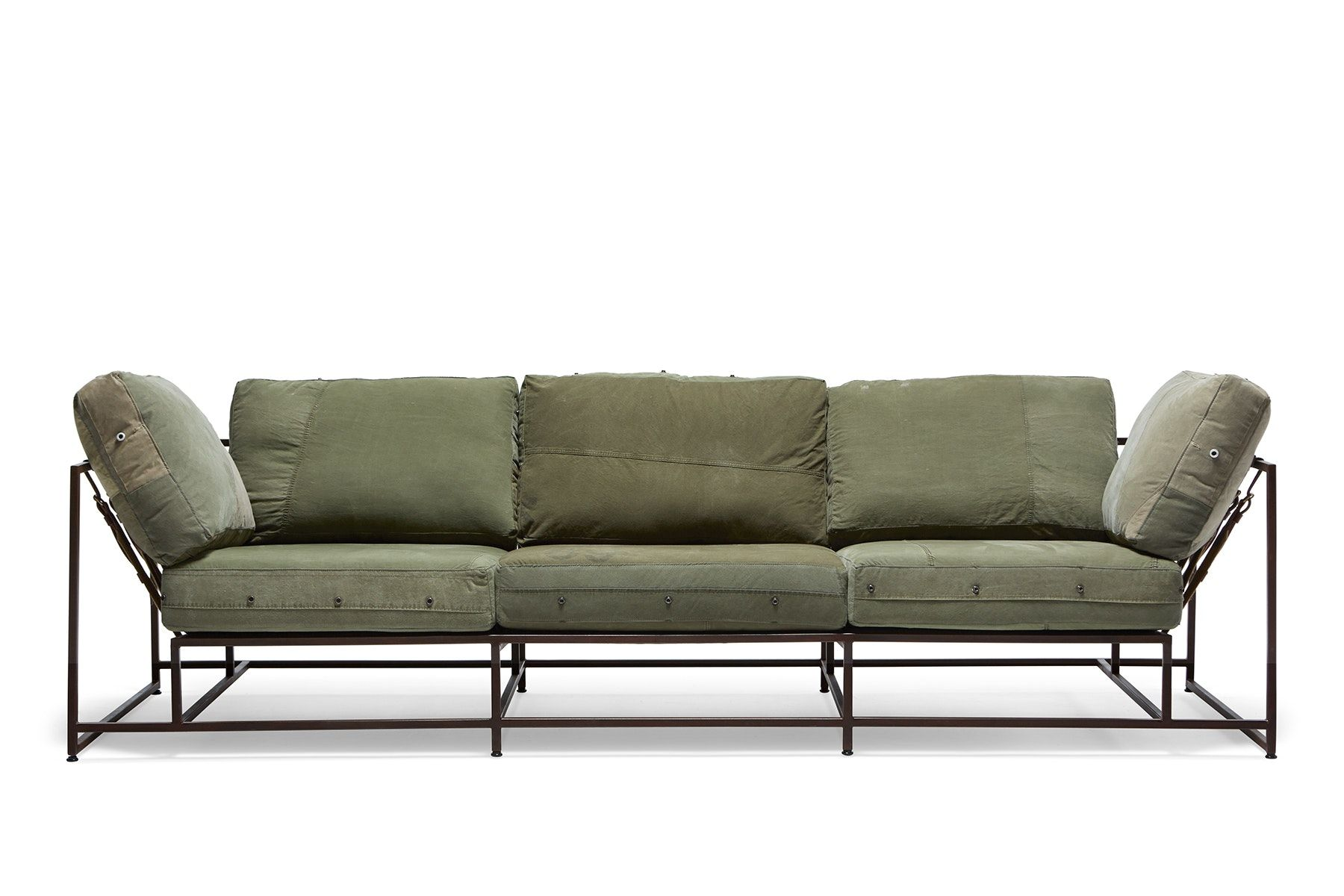 Buy Inheritance Collection Military Canvas Sofa by Stephen Kenn