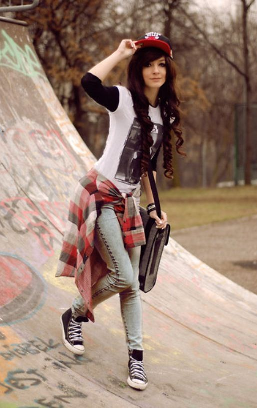 Get on Board with These Skater Girl Looks ... | Teen ...