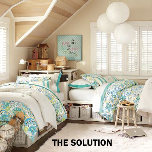 Ask Deb Nelson: Small, shared bedroom | Girls room ideas ...