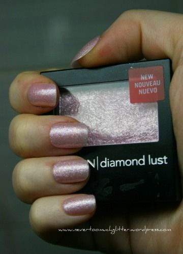 making nail polish out of eyeshadow. Why didn't I ever think of this? It is pretty simple.