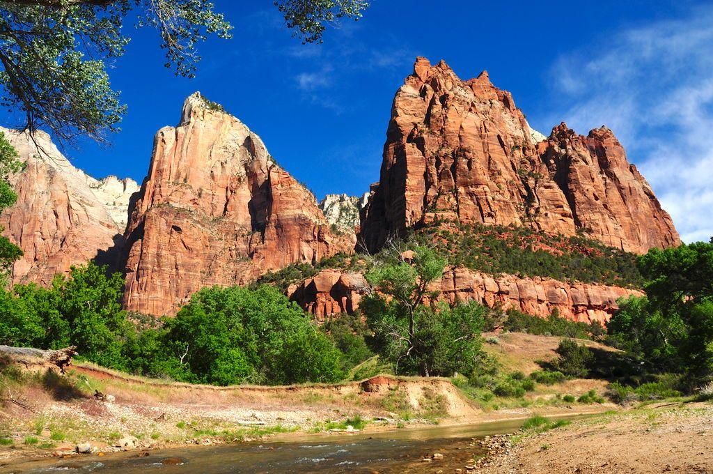 Zion National Park Utah Jigsaw Puzzle Zion National Park National Parks National Parks Usa