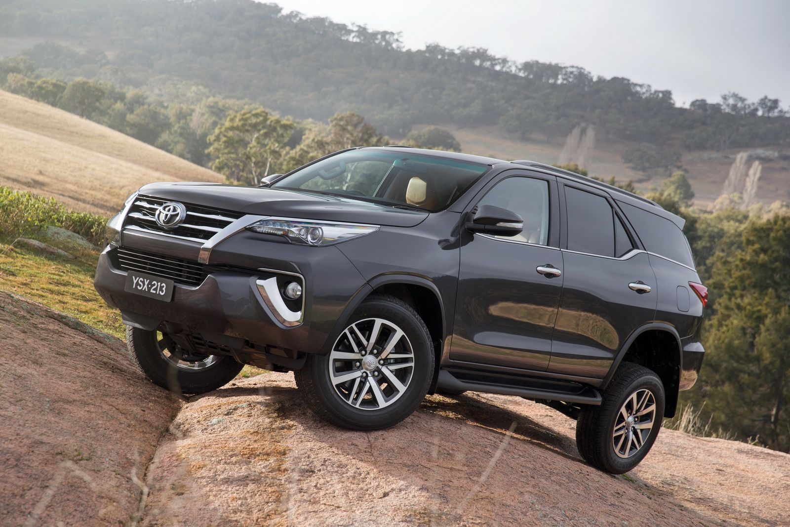 Toyota has unveiled the all new fortuner suv in australia and thailand