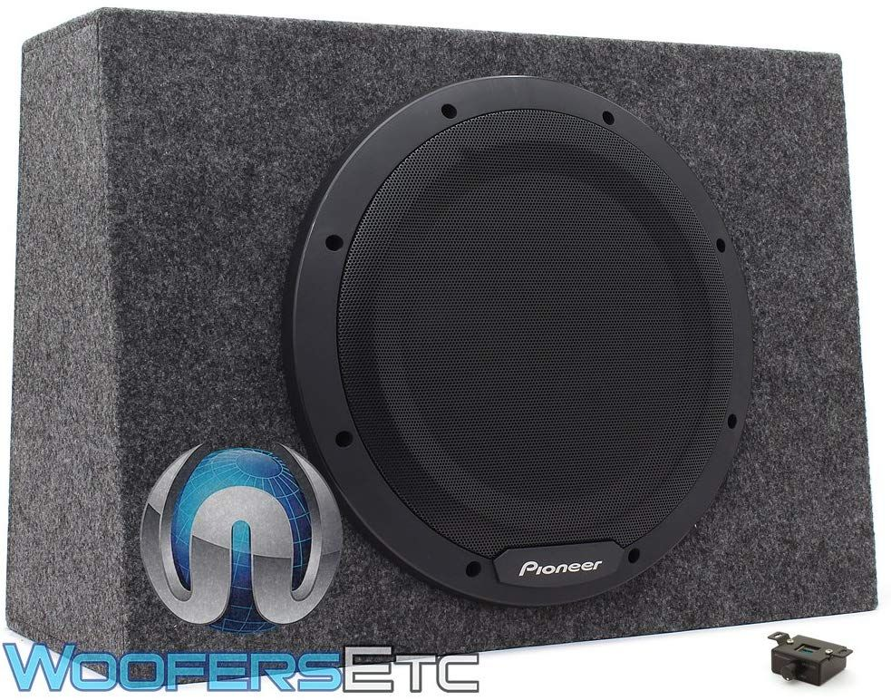 Pioneer Ts Wx1210a Sealed 12 1 300 Watt Active Subwoofer With Built In Amp All Shop At Home Car Subwoofer Subwoofer Powered Subwoofer